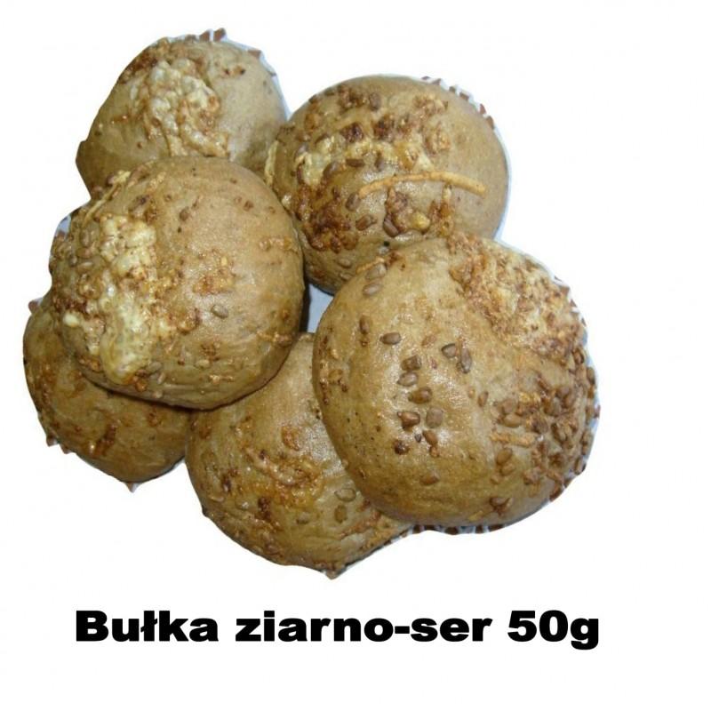bułka ser ziarno 50g