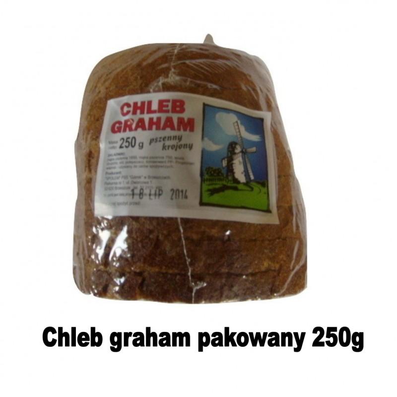 chleb graham pakowany 250g