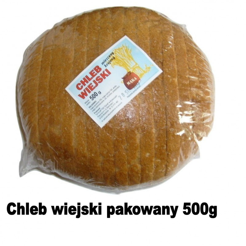 chleb wiejki pakowany 500g