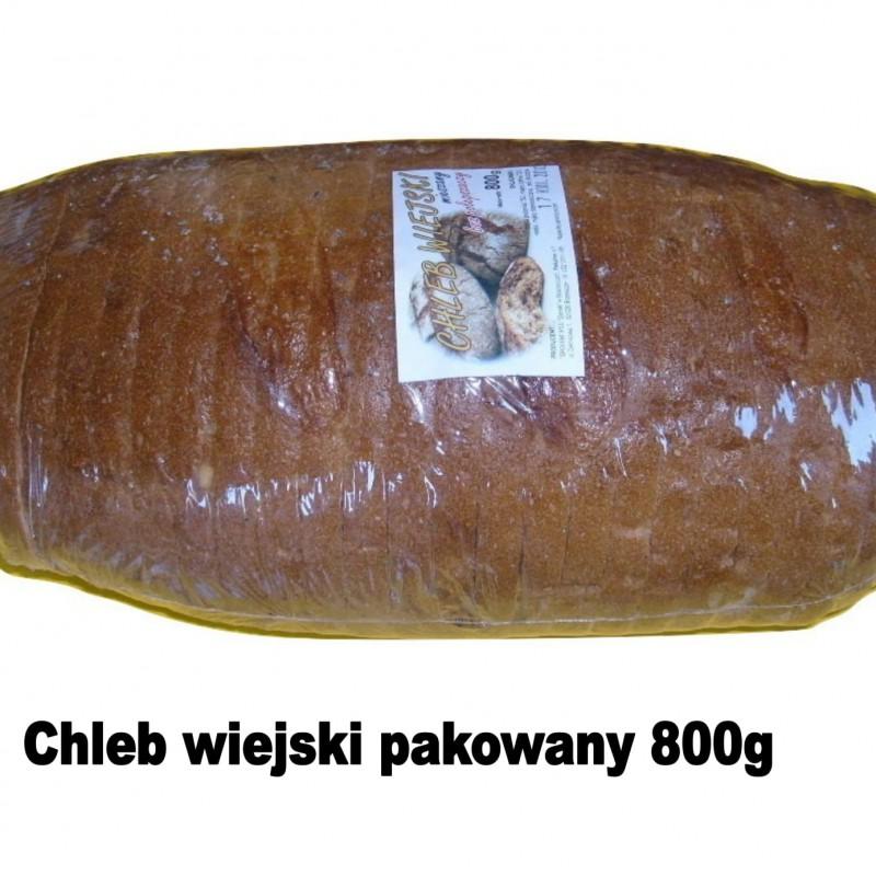 chleb wiejski pakowny 800g